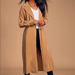 New-Belted Trench Coat (light weight) Runs big